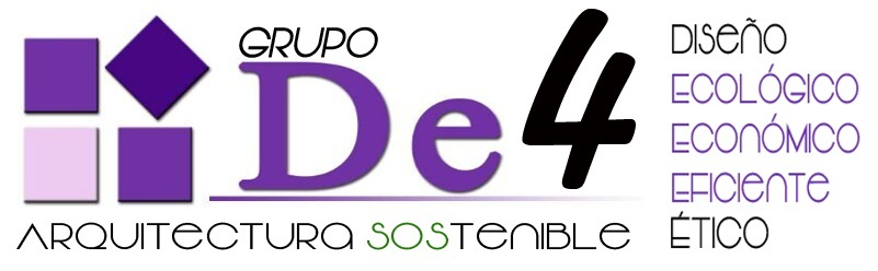 Grupo De4 Arquitectura Sostenible, empresa de viviendas bioclimáticas en Andalucía.